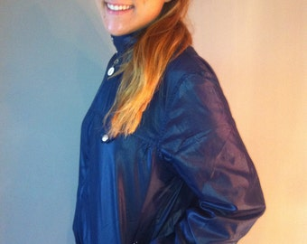 Navy blue jacket -vintage 80-