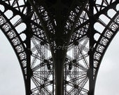 Eiffel Tower, Paris France, Original monchrome print 7 x 5