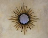 """9"""" Phoenix Sunburst - """"Cactus Rib"""" Mirror"""