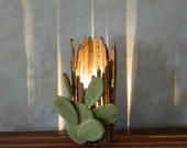 Prickly Pear Saguaro Rib Trunk Table Lamp