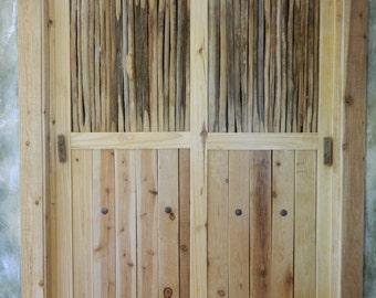 Saguaro Cactus Rib Doors & Shutters