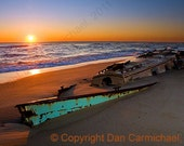 Beached Beauty at Sunrise - Outer Banks