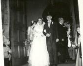Set of 4 Vintage Wedding  Photographs 1940-60s