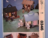 Mouse House, Bear Barn, Rabbit Residence,M8346