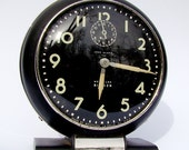 Vintage clock Westclox Big Ben deco style retro display glow in the dark