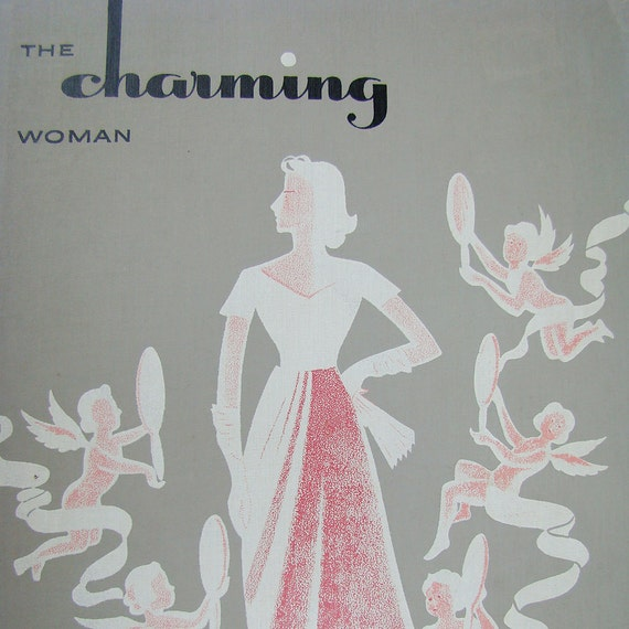 Vintage Fashion Beauty Book 1950s Retro Charming By