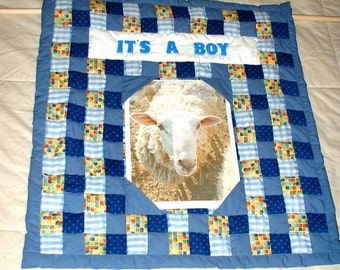 Quilted Picture Wallhanging