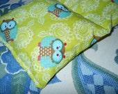 Owl Fabric Hot/Cold Pack