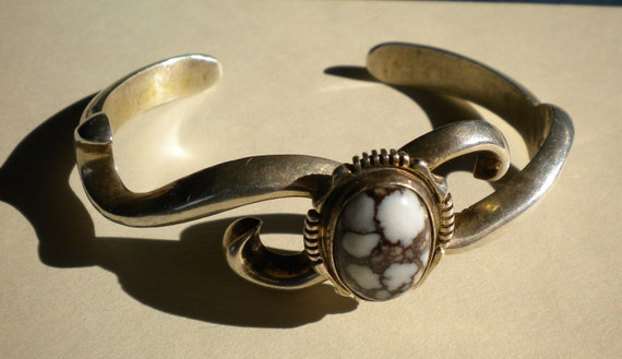 FL Begay Stone and Sterling Bracelet