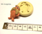 The Lorax 37mm X 38 mm Mold Resin Polymer Clay Soap Food Candle