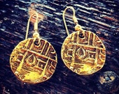 Deb Rupees Earrings - Buthan Coins