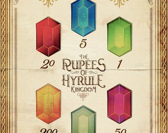 Legend of Zelda - Tingle's Ring of Rupees of Hyrule Kingdom Version - signed museum quality giclée fine art print