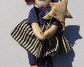 Americana 20 inch Handmade Fabric Doll