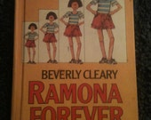 Ramona Forever by Beverly Cleary, book 1984. children story vintage Quimby books stories kids childrens kid old novel Henry Huggins Beezus