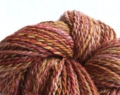 Handspun Merino Wool - 2  Ply - Warm Tones - 4.9 ounces (140 gr)