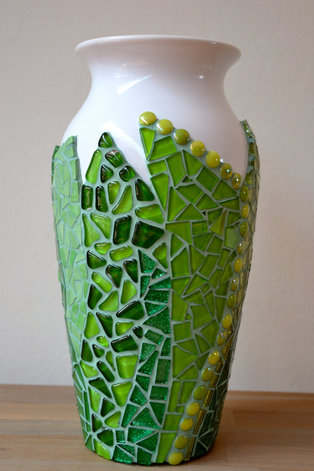 Glass Mosaic Vase Reserved