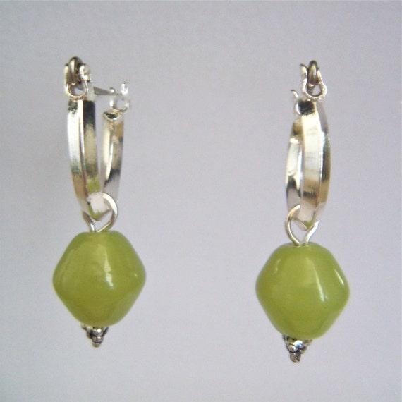 Hoop-style earring