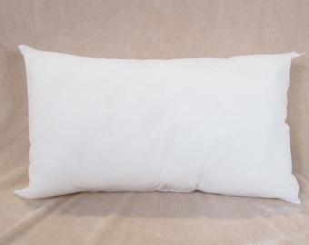 13x25 Pillow Form Insert for Craft / Throw Pillow Shams