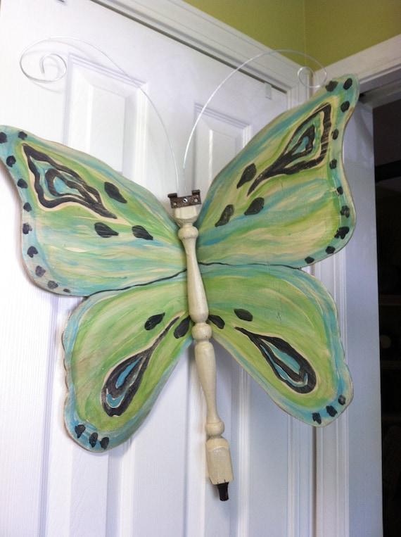 Table Leg Butterfly - Blue Wings