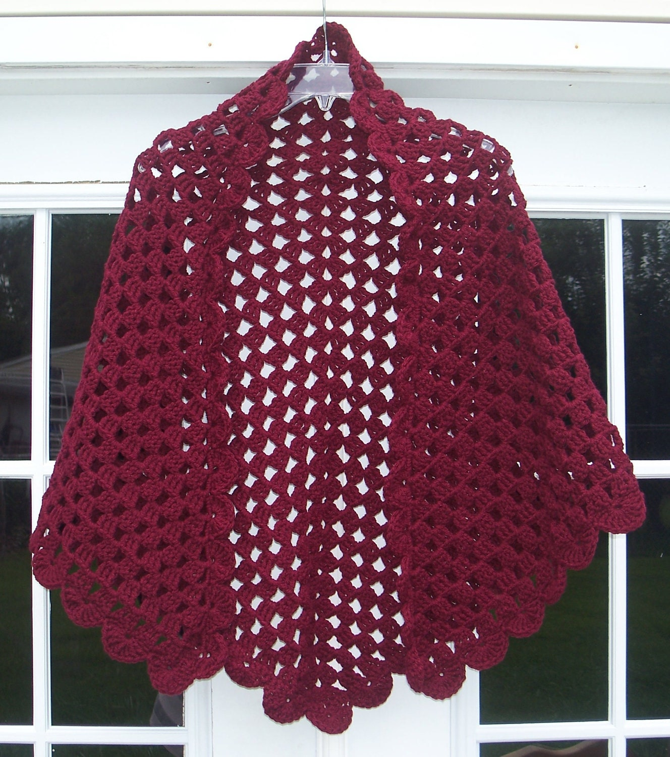 Free Easy Crochet Patterns For Prayer Shawls : Shalom Prayer Shawl Crochet N Faith Blog