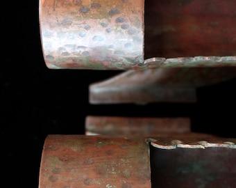 Trench Art Antique Copper Primitive Vessels