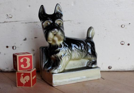 Vintage Schnauzer Dog Ornament