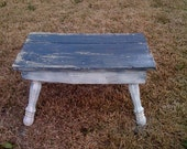 Antiqued Stepping Stool