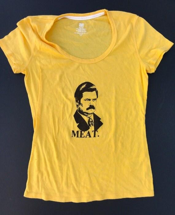 Ron Swanson Tshirt (Women's Medium)