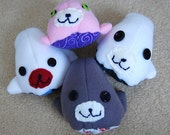 Baby Seal Mamegoma Fleece Plush Toy