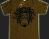 Graphic Design Medusa monkey snake head funny T-Shirt ape (S-XL) FREE SHIPPING