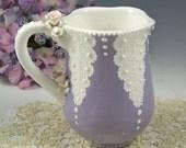Elegant  Lace Mug