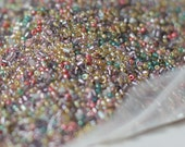 Glass Seed Bead Mixed Colors - Miyuki Seed Beads - 1/2 Kilo - 1 plus pound FREE SHIPPING