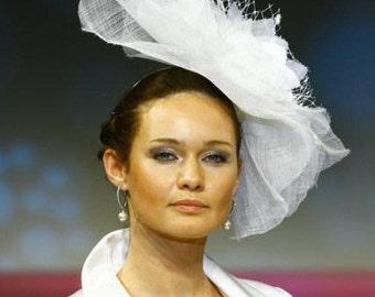 BRIDAL COUTURE/ Fascinator Hat. /