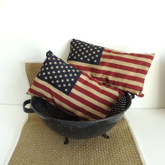 Patriotic American Flag Shelf Sitters