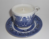 Teacup Candle in French Lavender Scent