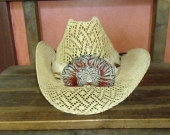VinTaGe CowBoY HaT MeXicaN SouThWesTerN SiZe 7