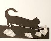 original cat print