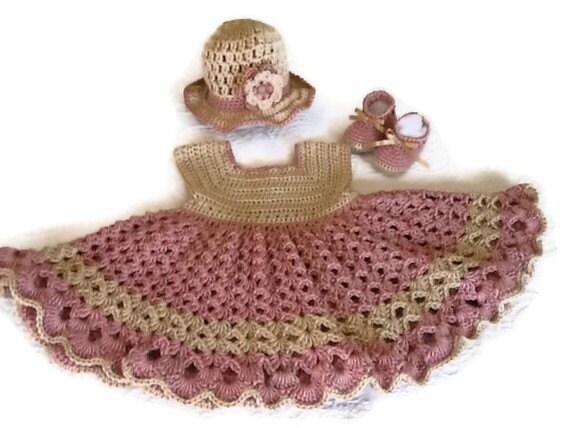 Baby Girl Dresses Handmade Baby Girl's Handmade Crochet