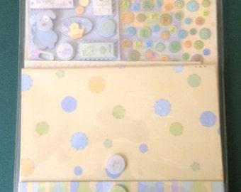 Sweet Pea Baby Boy Mini Book Kit
