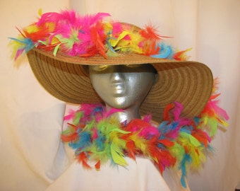 Made to order customized straw hat