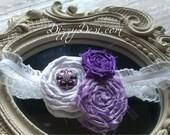 Lovely Lilac Headband