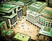 "SALE - London Bird View - 8"" x 10"" Print - View from Saint Paul's Cathedral - Travel Photography - Fine Art Photography"