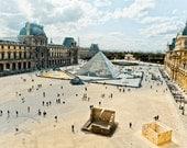 """Paris, Louvre View - 8"""" x 10"""" Print - Travel Photography - Fine Art Photography"""