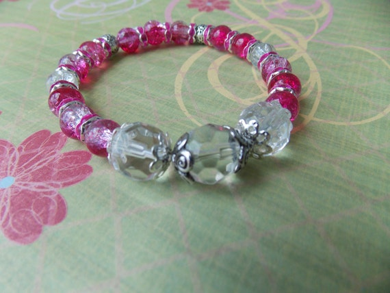 pink and crystal-Rose