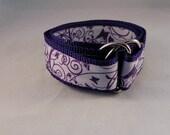 Purple Butterfly Swirls Belt 2T-5T