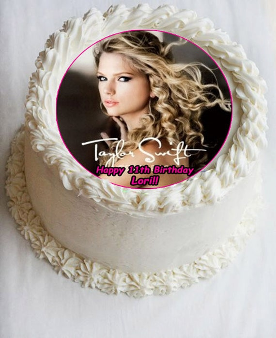 Taylor Swift Edible Cake Ideas and Designs