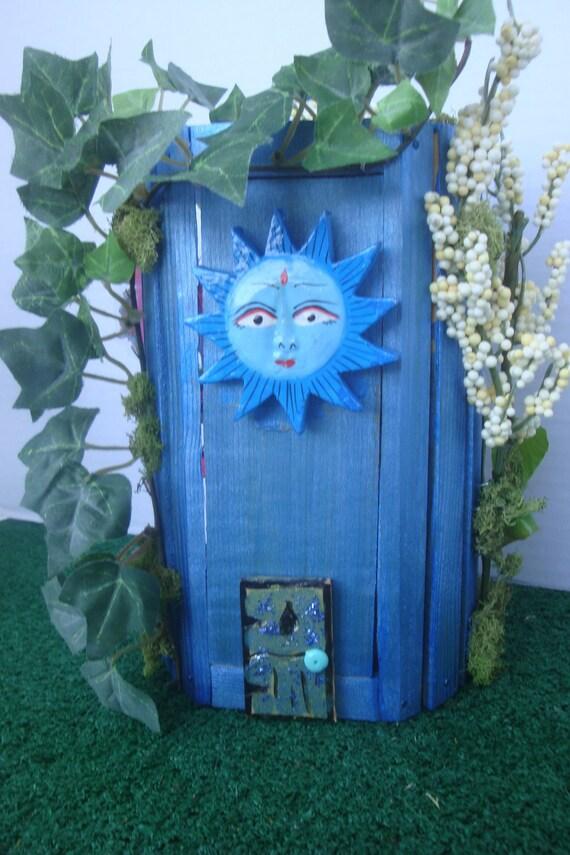 Enchanting Blue Sunny Fairy House..2 Floors Furnished...OOAK