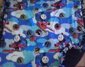 Thomas The Train Fleece Tie  Blanket