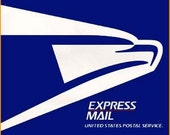 Upgrade shipping to Express Mail or 3rd Day Select