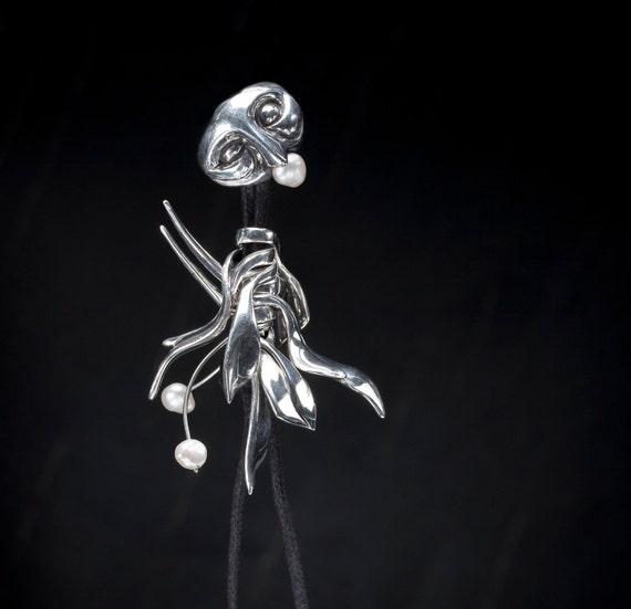 Pendant Necklace/Bracelet, Grigris, Tribal mask.